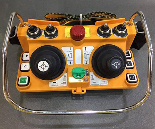 Радиоуправление на мостовой кран на ООО